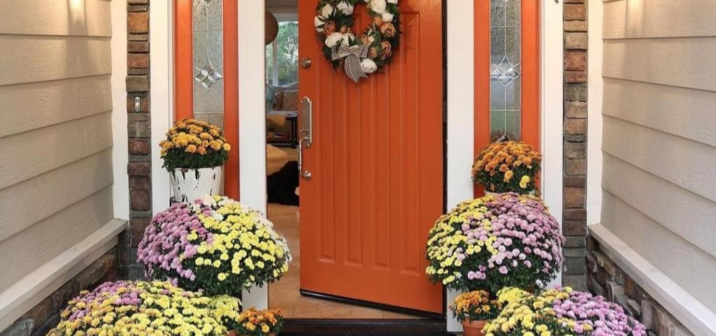 Őszre hangolt bejárati ajtók