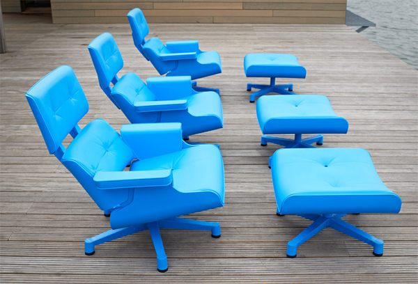 lounge chair, Eamaes, kültéri, Mal Furniture, bútor